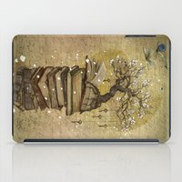 key iPad Cases featuring Knowledge is the key by Marine Loup