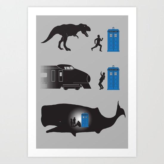 Time Travel is Dangerous Art Print