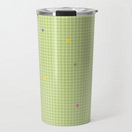 Checked Pattern_X Travel Mug