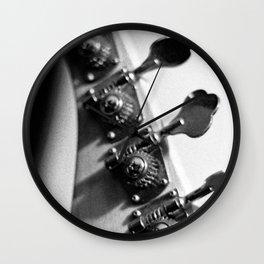 Tuning Knobs Wall Clock