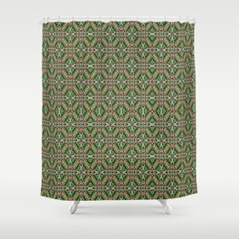 Clover Bole Shower Curtain