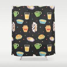 Yummy Breakfast Shower Curtain