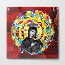 Nossa Senhora do Perpétuo Socorro (Our Lady of Perpetual Help) Metal Print