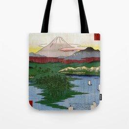 Noge and Yokohama by Hiroshige Tote Bag