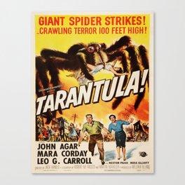 Vintage poster - Tarantula Canvas Print