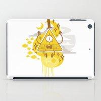 """bill iPad Cases featuring """"Dreamsphere // Bill"""" by Insane-Dorito"""
