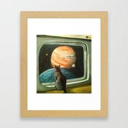 Goodnight earth Framed Art Print