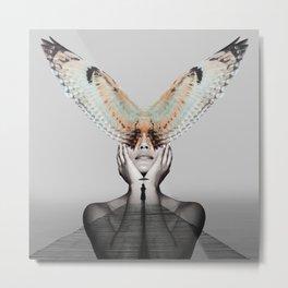 Voyage - Digital Collage Metal Print