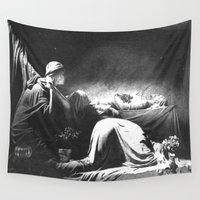 joy division Wall Tapestries featuring Joy Division - Closer by NICEALB