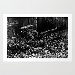 Forest Dark III Art Print