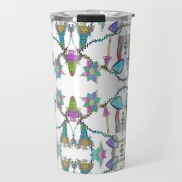Fairy Celebration - White Travel Mug