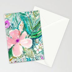 PALE PINK HIBISCUS Stationery Cards