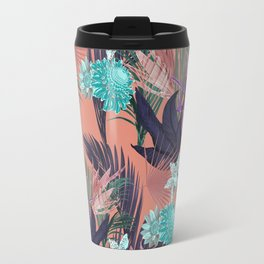 ESTAMPA VERÃO ROSE Travel Mug