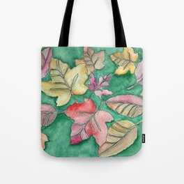 Fall Leaves Fall Tote Bag