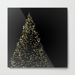 Edinburgh Christmas Tree  Metal Print