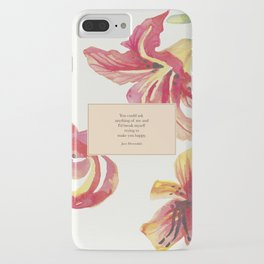 You could ask anything of me...Jace Herondale. The Mortal Instruments. iPhone Case