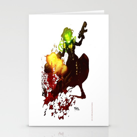Anne Frankenstein AF2 Stationery Cards