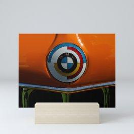 Classic German sports car hood roundel 2002 Mini Art Print