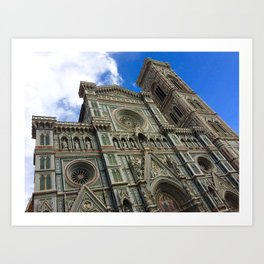 Duomo Architecture Art Print