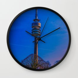 Olympic Tower Munich Wall Clock