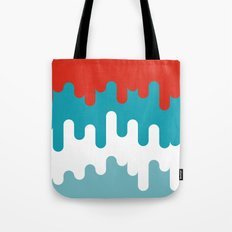 Drips and Drops - Smurf Tote Bag