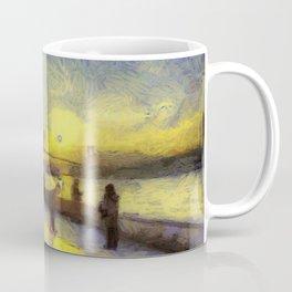Bosphorus Sunset Van Gogh Coffee Mug