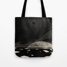 the white shore Tote Bag