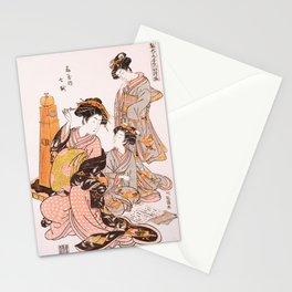 Courtesan Nanakoshi of the Ōgiya Brothel Stationery Cards