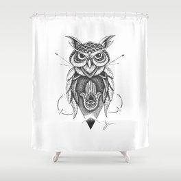 Dotowl Shower Curtain