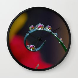fairy drops 2 Wall Clock