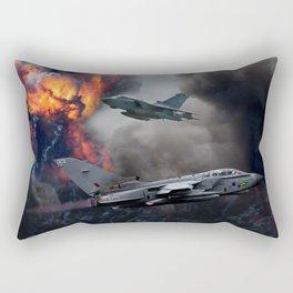 Tornado GR4 Bombing run Rectangular Pillow
