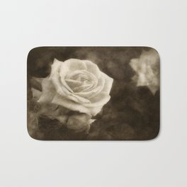 Pink Roses in Anzures 1 Antiqued Bath Mat