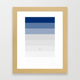 Winter / Tél Framed Art Print