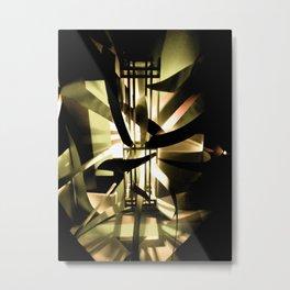 Time Machine Metal Print