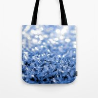 sparkle Tote Bags featuring Sparkle by Brian Raggatt