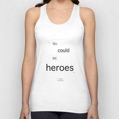 Heroes Unisex Tank Top
