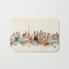 tokyo japan skyline Bath Mat