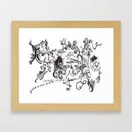 Noctivagus Framed Art Print