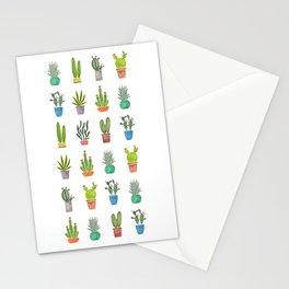 Mini Cactus Garden Stationery Cards