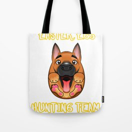 Dog Egg Easter Gift Easter Puppy Dog Lover Tote Bag