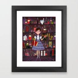 Flavia de Luce Framed Art Print