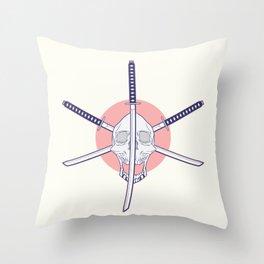 Sun swords Throw Pillow