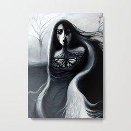 Alone, Full Painting Metal Print