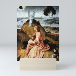 Hieronymus Bosch - St John the Evangelist on Patmos Mini Art Print