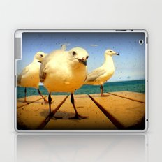 Seagulls - number 4 from set of 4 Laptop & iPad Skin