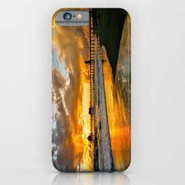 Surf City Sunsets iPhone Case