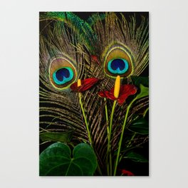 Birds Of A Feather 1 Canvas Print