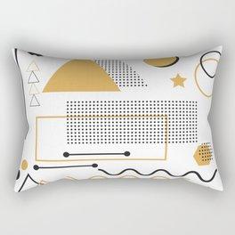 Memphis Pattern Design Rectangular Pillow