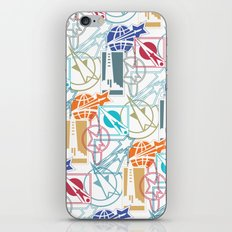Space Badges iPhone & iPod Skin