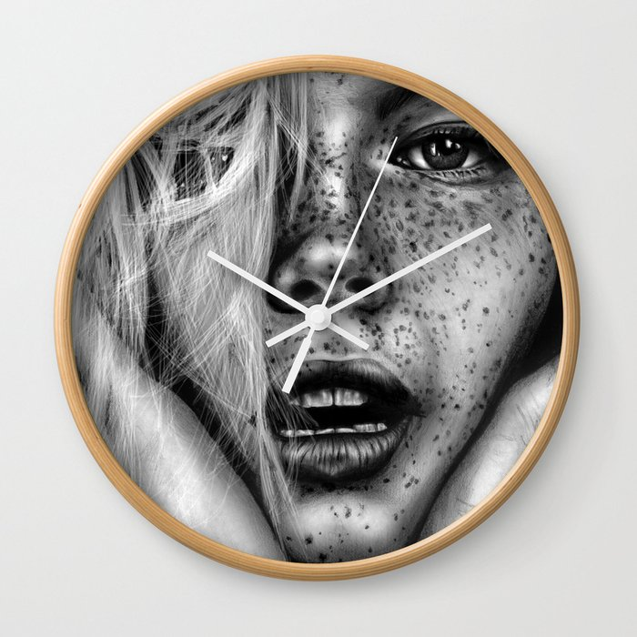 + FRECKLES + Wall Clock